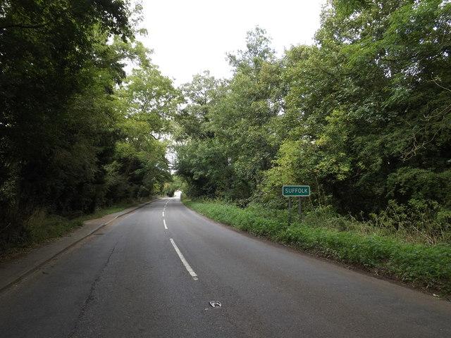 Entering Suffolk on Lower Street