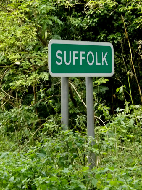 Suffolk County sign on Lower Street