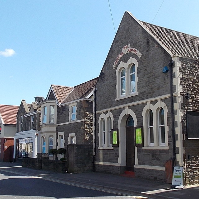 Salvation Army Hall in Clevedon