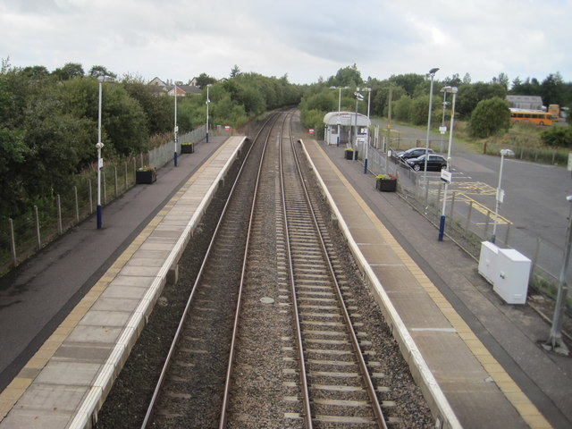 Auchinleck railway station, Ayrshire