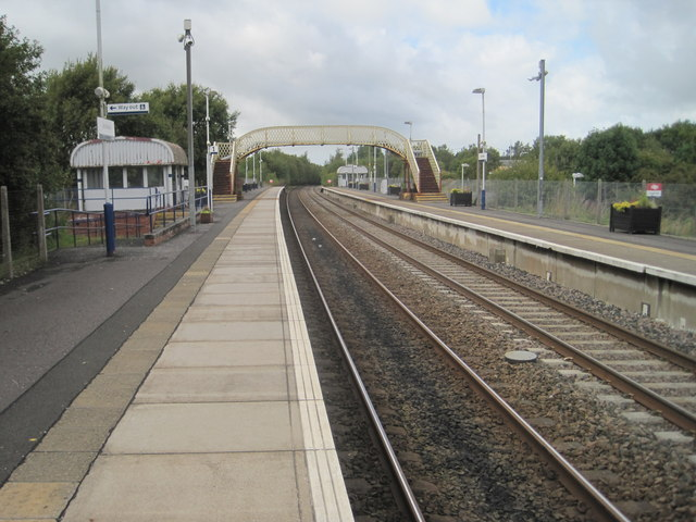 Auchinleck railway station, Ayrshire