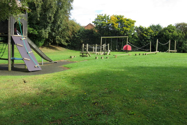Children's playground by Occupation Road