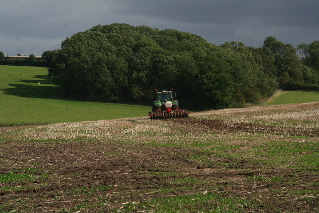 Field preparation south of Hall Farm, Cuxwold