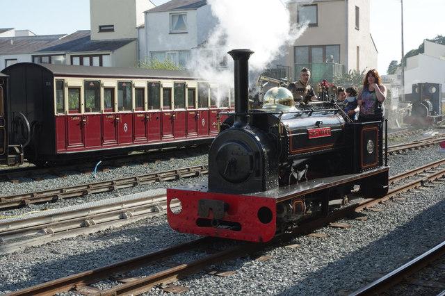 'Hugh Napier' at Porthmadog Harbour Station