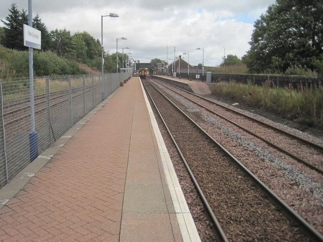 New Cumnock railway station, Ayrshire