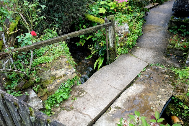 Stanway House Estate Cottages Entrance over Mill Outfall Stream