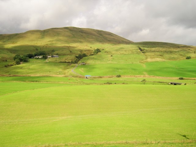 Nith Valley towards Corsencon Hill