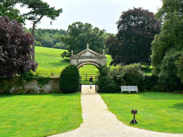 Main gate, Chastleton House, Chastleton, Oxfordshire