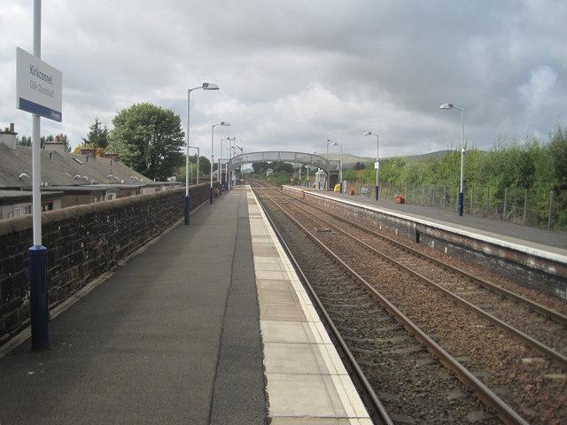 Kirkconnel railway station, Dumfries & Galloway