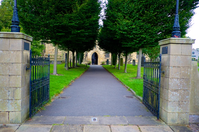 St. John the Baptist Tideswell Entrance