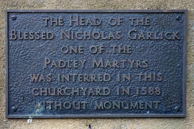 St. John the Baptist Tideswell Entrance Memorial