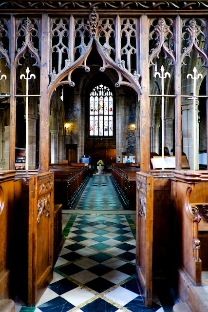St. John the Baptist Tideswell Altar Screen