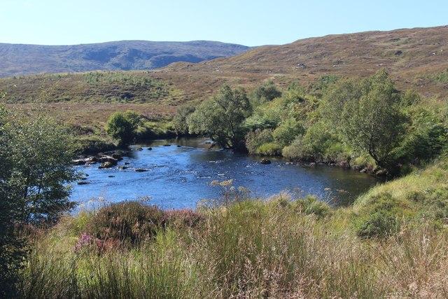 Bend on the Merkland River