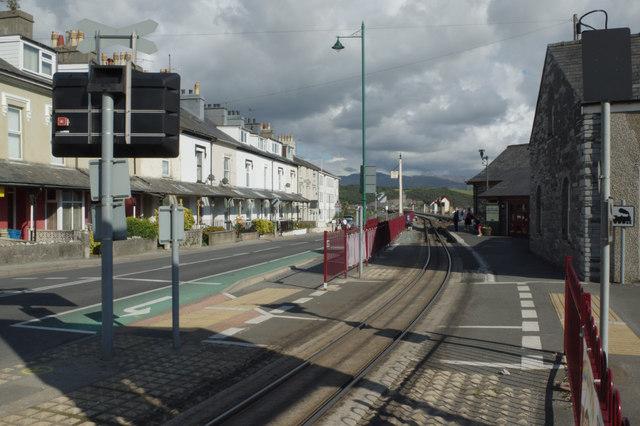 Welsh Highland Railway at Porthmadog