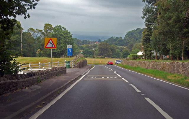 Descending Bristol Hill, A39