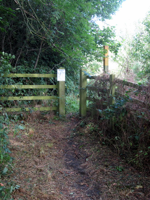 Footpath off Gorse Lane