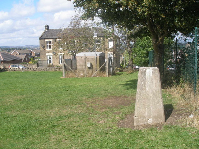 Trig point at Norristhorpe