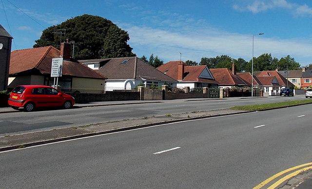 Malpas Road bungalows, Newport