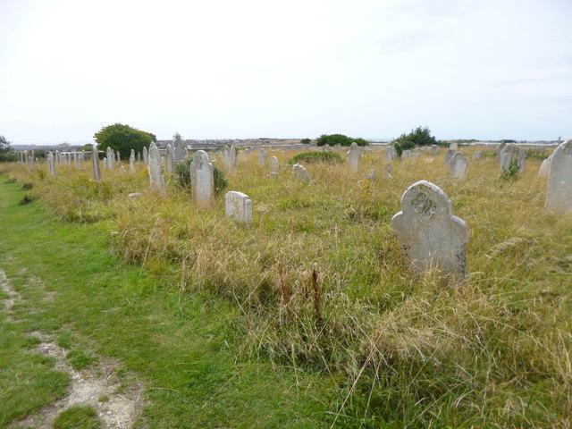 Easton, churchyard