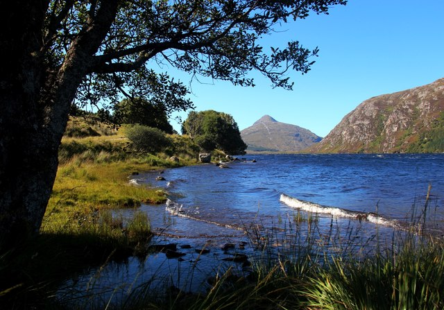Ben Stack from Loch More