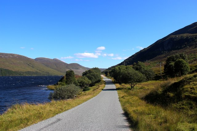 A838 by Loch More