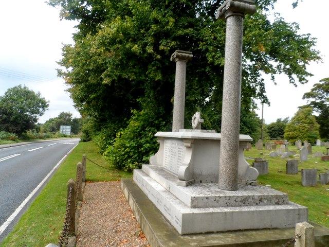 War memorial, Snape