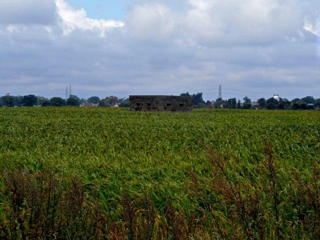 WW2 Pillbox near Friston