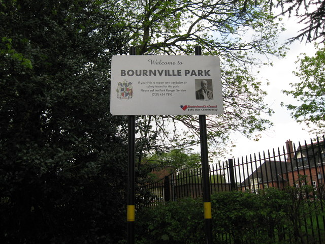 You are here-Bournville, Birmingham