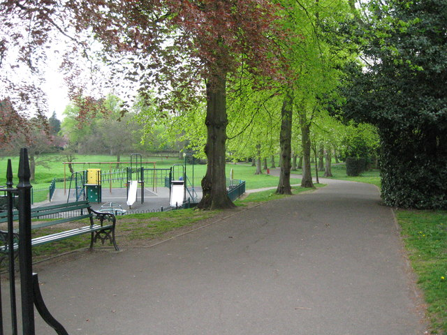 Way in to the park-Bournville, Birmingham