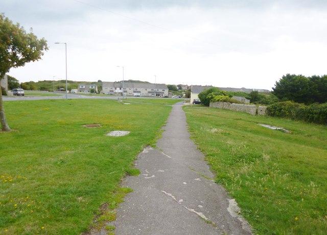 Weston, footpath