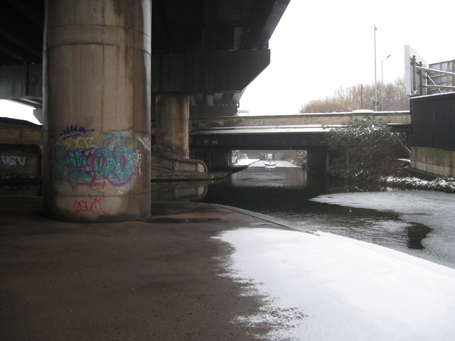 T for Tame and junction-Spaghetti Junction, Birmingham