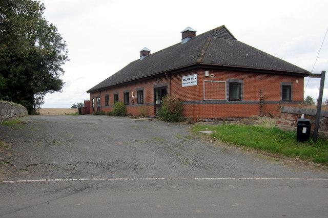 Norton-Juxta-Twycross village hall