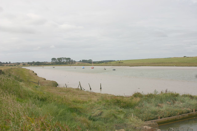Butley River looking downstream