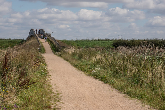 Cycle Bridge over Reach Lode