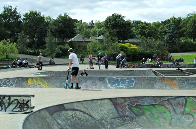 Kelvingrove skate park