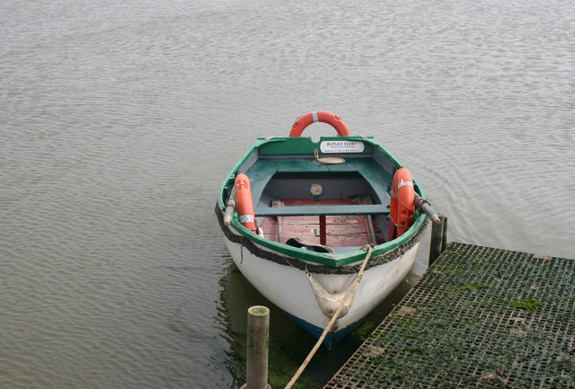 Butley Ferry - the boat