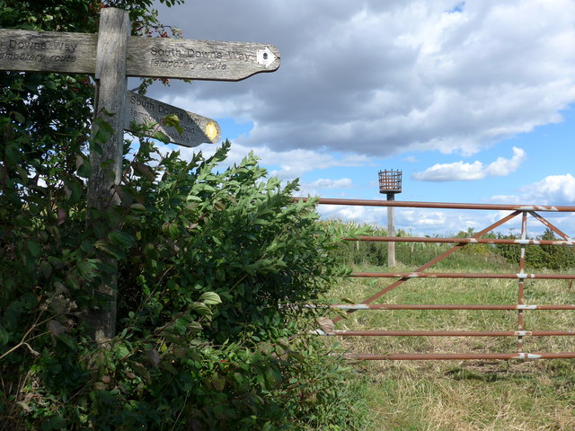 South Downs Way, Winchester to Exton (170a)