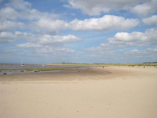 Beach at the Estuary of the River Alt