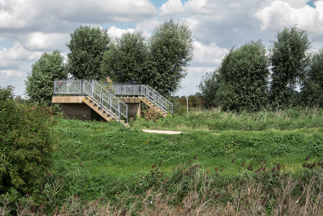 Footbridge Over Burwell Lode
