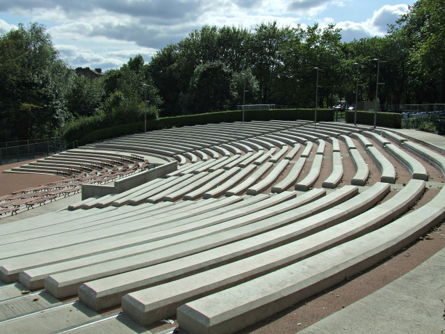 Kelvingrove bandstand and amphitheatre