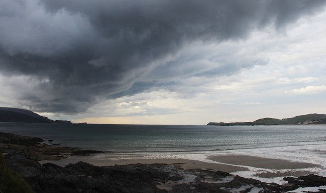 Storm brewing over Balnakeil Bay