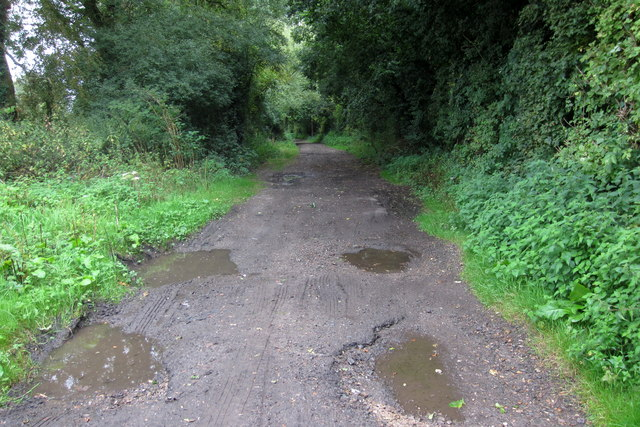 Track to Brookfield Farm