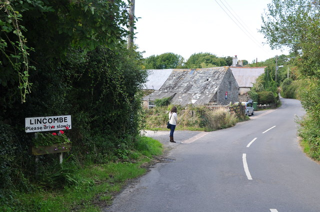 Lincombe : Country Lane