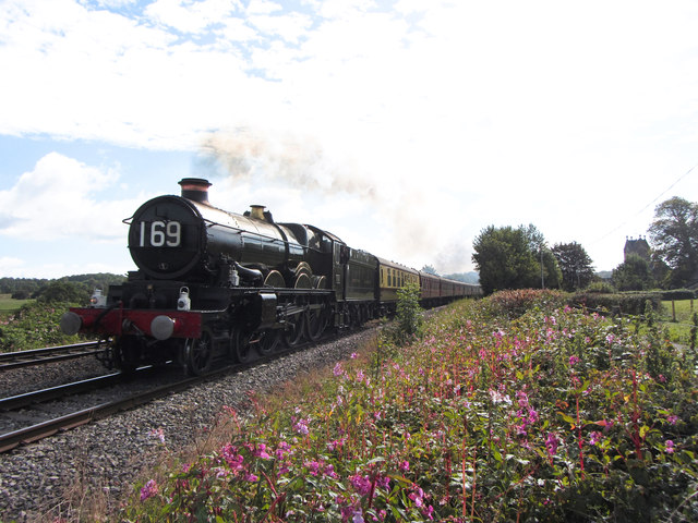 Steam charter train at St George's