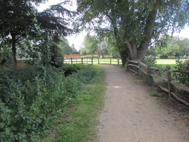 Footpath at Westgate Fields