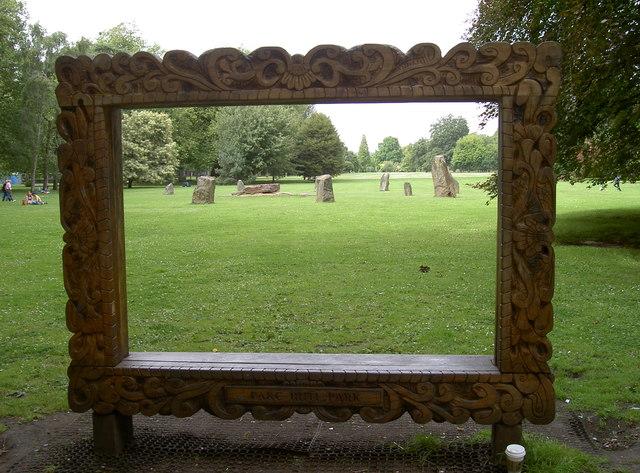 Nicely framed