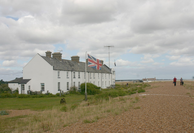 Coastguard Cottages, Shingle Street