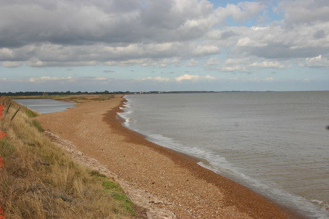 Bawdsey Beach - southern end
