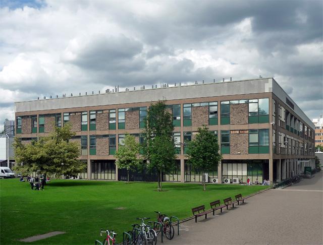 Chemistry Building, Cut Through Lane, Nottingham