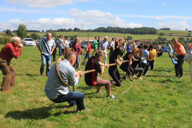 The 2014 Ariconium Tug-of-War final